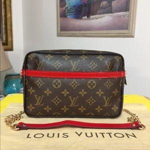 Louis Vuitton Compiegne 23 Shoulder Bag 💼 Red